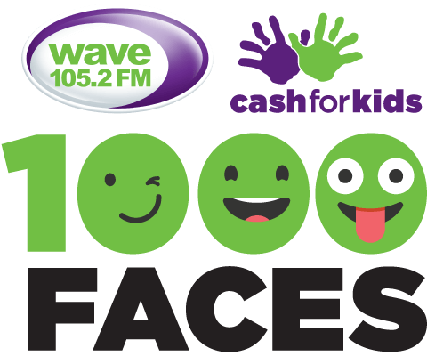 Wave 105 Cash for Kids 1000 Faces