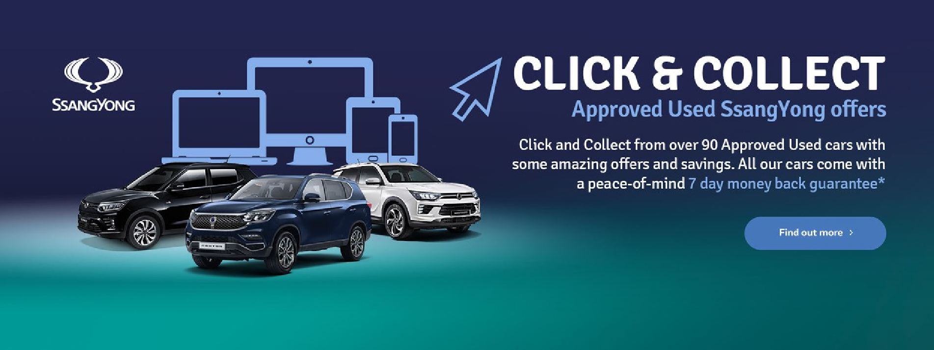 The Peter Cooper Motor Group 7 day Money Back Guarantee