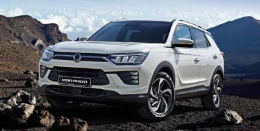 New SsangYong Korando from £16,995