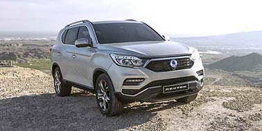 New SsangYong All New Rexton from £28,495