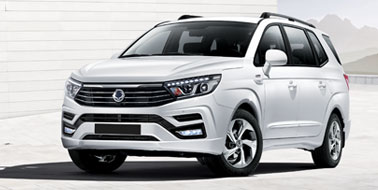 New SsangYong Turismo from £20,995